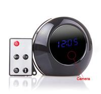 ingrosso telecomando per dv camera-Sveglia della macchina fotografica digitale con telecomando HD Video Recorder 1280x960P Clock MINI DV DVR Digital Home di sicurezza Nanny Cam
