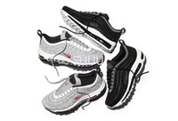 Wholesale Diamond Sneakers - Limited Air 97 LX Crystal Diamond Running Shoes For Women Men 2017New Arrival 97 OG Black White X-A-M Sneakers Sport Shoe Eur 36-46