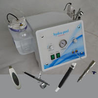 Wholesale diamond dermabrasion oxygen - 4 in 1 Oxygen jet water hydro dermabrasion diamond skin peeling hydra facial machine