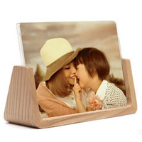 "Wholesale Pictures Decorations Stocking - Wooden Room Table Desktop Decoration Wedding Picture Frames For 6"" photo"