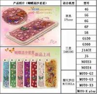 Wholesale Iphone5 Case Glitter Bling - Colorful Moving Stars Liquid Glitter Quicksand 3D Bling Phone Case Cover For Apple Iphone 6 Plus iphone5 5S 4S Shining Star Liquid Case