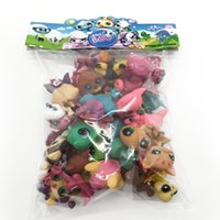 Wholesale Pet Dog Bag - Toy bag 31Pcs bag Little Pet Shop LPS Toys Animal Cartoon Cat Dog Action Figures Collection Kids toys Gift for Children 0020