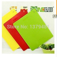 Wholesale Order Mixed Kitchen - Wholesale-Min Order is $10(can mix) Free Shipping Kitchen Chopping Blocks 3colors For Different using Kitchen tools