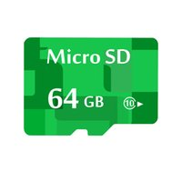 Wholesale 64 Gb Micro Sd Wholesale - 64G Real Capacity Green Class10 Micro SD Card 64GB Memory Card sd 64 GB TF Card For Phone android with CE
