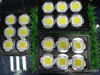 epistar boncuklar toptan satış-50 W kırmızı mavi yeşil rgb ışık boncuk LED cob Ampul çip IC SMD Lamba Işık Beyaz Yüksek Güç Epistar 45mil Cips sel reflektör