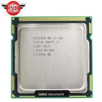 intel i5 masaüstü toptan satış-Orijinal Intel Core i5 760 İşlemci 2.8 GHz 8 MB Önbellek Soketi LGA1156 45nm Masaüstü CPU