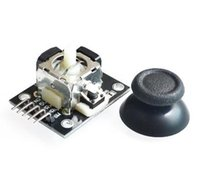 Wholesale Joystick Module Arduino - Wholesale-Dual-axis XY Joystick Module For Arduino ps2 Joystick Module