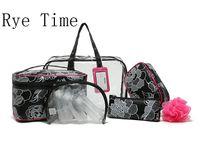Wholesale Brand S Handbags - 2016 New Brand Women 'S Fashion Travel Washing Bags 10 Pieces Set Cosmetics Bags Waterproof Make Up Organizer Bag In Bag Handbags