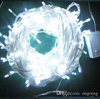 Wholesale Christmas Decorations Wholesale Prices - Cheapest price 10M 100 LED string Decoration Light 110V 220V For Party Wedding led christmas twinkle lighting DHL shipping