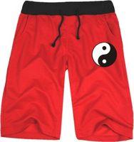 Wholesale Wushu Pants - Free shipping New Arrivals Taiji Wushu Bagua map Mens   Women Casual shorts neutral Cotton Blend Short pants Size: xxs-4XL