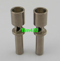 Wholesale flux nail for sale - In Stock New mm Flux Titanium Nail Domeless Ti Nail Grade Fast Shipping
