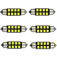 Wholesale Led Light Jeep Compass - Auto Led 31 36 39 41mm Festoon 8 LEDs 2835 SMD LED Bulb DE3021 6411 6413 6418 DE3423 DE3425 211-2 212-2 Interior light