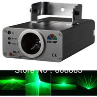 Wholesale dj laser light system - new bright 40mw Green Laser Line Scanner light show system Lighting DJ Christmas Party ktv dance Disco Stage Light s1