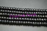 Wholesale Onyx Faceted Bead - Black Onyx Agate Beads Faceted Button High Quality About 6MM 8MM Fit Various Bracelet Necklace Jewelry Making 5Strand Lot