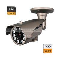 Wholesale Cctv Board Osd - HD-TVI 1080P 2.0MP 10PCs Super-LED 2.8-12mm Lens CCTV Camera OSD Board