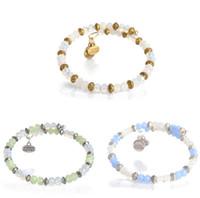 Wholesale Alex Ani Bracelet Silver - 2015 new alex and ani crystal charms expandable bangles bracelets antique silver gold plated mint sentiment wrap charm wring bangle bracelet