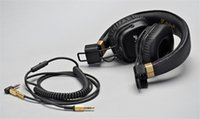Wholesale Dj Headphone Cable - Brand New Major II Headphone Good Bass with Mic Separable Cable Noise Cancelling DJ Headset Studio Monitor HiFi Auriculares