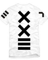 streetwear pyrex venda por atacado-Novas Mulheres Verão Homens xxlll hiphop japão camisas streetwear pyrex 23 shote hba curto-luva T-shirt famosa estrela tees