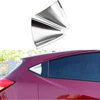 Wholesale Honda Handle Set - 2 Pcs Set Car Styling Decorative Rear Handle Cover Protection For Honda HR-V HRV Vezel 2014 2015 2016 ABS Trim Garnish