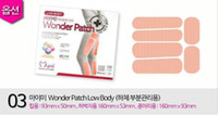 Wholesale Leg Fat Burner - DHL Free 1800pcs Low Body Mymi Wonder Slim Patch For Legs And Arm Slimming Products Loss Weight Slimming patch Quick fat burners