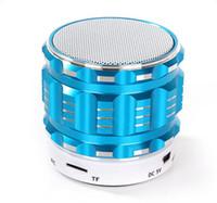 alto-falantes estéreo bluetooth venda por atacado-Atacado S28 bluetooth speaker Mini Alto-falantes Ao Ar Livre Sem Fio Com Função de Chamada De Cartão TF Stero Altifalante Do Microfone Portátil Para telefone Laptop