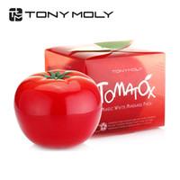 Wholesale Skin Whitening Cream Korea - Korea Cosmetic Original Tonymoly Tomatox Magic Massage Pack 80g for Clear Skin Care Face Whitening and Moisturizing