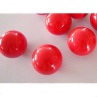 Venda por atacado - Frete grátis 3pcs / lot 52.5mm Red Single ball Resina 2 1/16 inch Snooker Balls Hot Sale Billiards snooker accessories