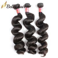 Wholesale Cheap Loose Wave Brazilian Hair - Peruvian Indian Malaysian Brazilian Loose Wave Unprocessed Virgin Human Hair Weaves Extensions 3or4pc lot 7A Wholesale Cheap Hair Wefts