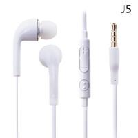 auriculares para s4 al por mayor-Auricular plano colorido en la oreja Auricular de 3,5 mm con control de volumen y Auriculares MIC para Samsung Galaxy S4 S5 I9600 Nota 2 Nota 3 N9000