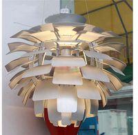 Wholesale Chandelier Artichokes - PH Artichoke Pendant Lamp Modern Pendant light Ceiling Light Metal Chandelier Design By Poul Henningsen Chandelier