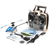 Wholesale Remote Heli - Rc helicoptero WLtoys V977 Brushless RC Heli With RealFlight G7 Simulator Transmitter remote control toys