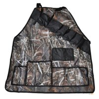 Wholesale prank gifts - Unique Waterproof Camouflage BBQ Grill Apron Oxford Cloth Outdoor Grilling Tablier Prank Beer Holder Humor Joke Barbeque Party Gift