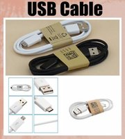 Wholesale S4 Charging - USB charging cable 1m  3 ft fit v8 micro samsung 3 s4 s5 galaxy note 4 HTC usb line usb charger CAB001