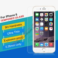 Wholesale Gorilla Glass Screen - Free DHL For iphone 6 6 PLUS 6+ 4.7 Ultrathin Gorilla 9H Tempered Glass Premium Explosion-proof screen protector Film Guard