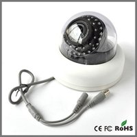 Wholesale Dome Camera New Arrival CCD tvl mm lens Plastic Casing LED IR infrared Indoor video Monitoring Security CCTV Cameras