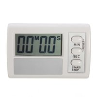 Conte diplomato CE Mini Digital Kitchen Cooking Timer Display LCD Giù Su elettronico per orologio di monitoraggio $ 18no