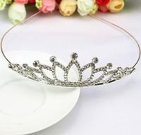 Wholesale Indian Jewelry Tiara - 2016 new style headband,crystal headbands,elegant Beautiful Wedding Bridal Hair Jewelry Crystal Tiaras & hairband GL-HB09