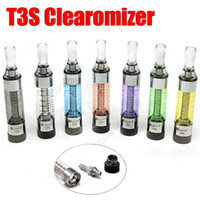 ingrosso le migliori bobine di cig-Il la cosa migliore Kanger T3S clearomizer ricostruibile atomizzatore serbatoio copia protank gs h2 bobine sostituibili per ego batteria e cig cigs sigaretta elettronica