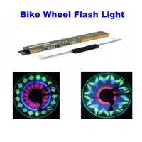 Wholesale Colored Bikes Wholesale - 48 RGB LEDs 48 Modes Spoke Light Water Resistant Anti-shock Custom Programmable Bike Bicycle Wheel Light Color Changing