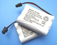 Wholesale Cordless Phone Rechargeable Battery - Freeshipping! 200pcs lot New NIMH Cordless Phone Battery for Uniden BT-446 3.6 V 800mAh Rechargeable BT446 Battery
