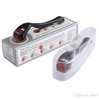 massage rollen nadeln großhandel-540 nadeln derma roller micro nadel akne entfernung hautpflege massage roller hautverjüngung schönheit maschine DHL