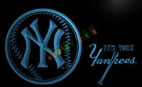 Wholesale Yankees Sign - LA289-TM NY New York Yankees Bar Club Neon Light Sign. Advertising. led panel.jpg