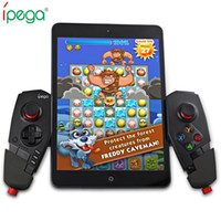 Wholesale ipad ios controller - IPEGA PG-9055 Wireless Bluetooth Game Controller Joystick with Stretch Bracket for iOS ipad Android Smartphone TV TV Box