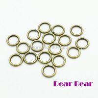 Wholesale Split Rings Bronze - Jump Ring 8x1.2 MM, Vintage Bronze   Silver 500 pcs lot,dandys