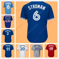 Wholesale Red Gold Kid - Men Women Youth Kid Toronto Jersey Roy Halladay Troy Tulowitzki Marcus Stroman Jose Bautista Josh Donaldson Kevin Pillar Russell Martin