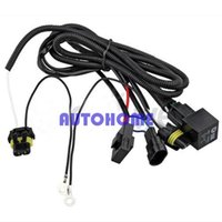 Wholesale Track Conversions - 5 x New Auto Xenon HID Conversion Relay Wiring Harness H11 9005 9006 order<$18no track