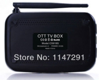 Wholesale Tv Box Cs918s - EU PLUG CS918S Android 4.2.2 TV BOX 5.0MP Camera Microphone Allwinner A31S Quad Core 2G 16G XBMC Bluetooth HDMI Media Player