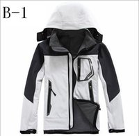 Wholesale Cool Boys Jackets - New 2016 Spring Autumn Winter Mens Outdoor Sportswear Full Warm Ski-wear Mountain Men's Fleece Jacket Fashion Boy Cool Cycling Jerseys