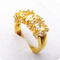 Wholesale Exquisite Stone - High Quality EXQUISITE 3.0CT NATURAL SAPPHIRE 14KT YELLOW GOLD GEMSTONE RING -SY07