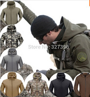 Wholesale Free Sports Gear - Free shipping Good Quality Cheap TAD GEAR SPECTRE Soft SHELL Jacket Outdoor Military Tactical Waterproof Windproof Tech Jackets Sports Army